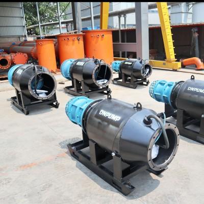 農田灌溉臨時取水雪橇式軸流泵型號