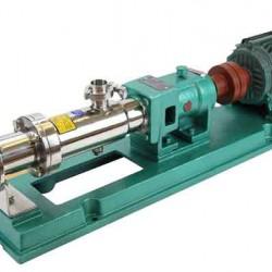 廠家生產直銷不銹鋼衛生螺桿泵,G型螺桿泵,單螺桿泵