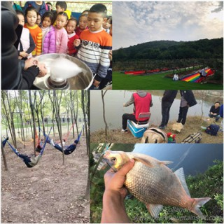 武漢班級親子游秋游好去處農家樂結合研學小學生出游孩子都喜歡
