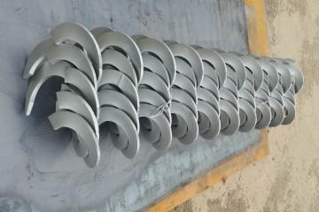 揚盛機械螺旋葉片價格,低價熱銷,現貨供應